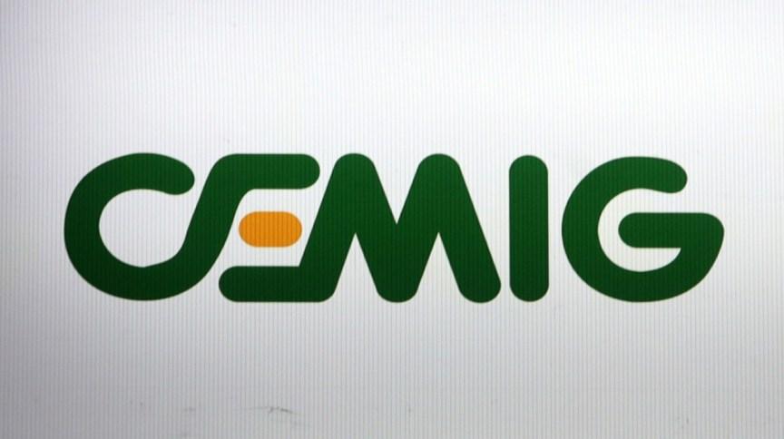 <strong>Logo da Cemig em painel na bolsa de valores de São Paulo</strong>