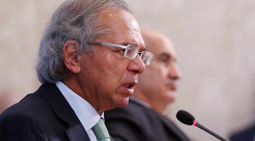 Ministro da Economia, Paulo Guedes: o Brasil ainda é pouco liberal, na visão de especialistas