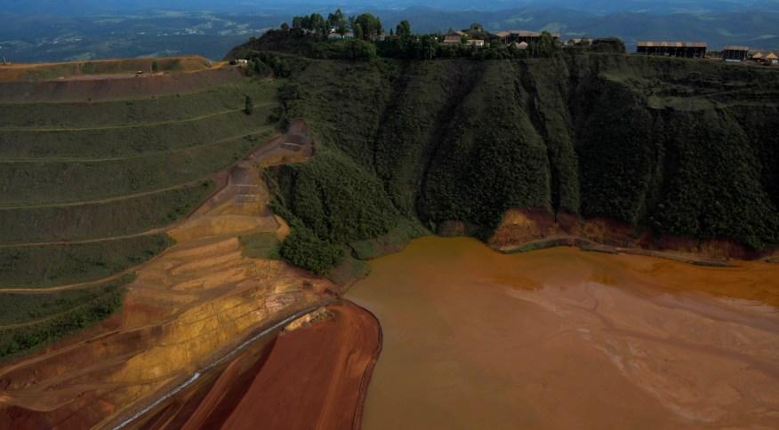 Barragem da Vale que se rompeu em Brumadinho (MG) em 2019