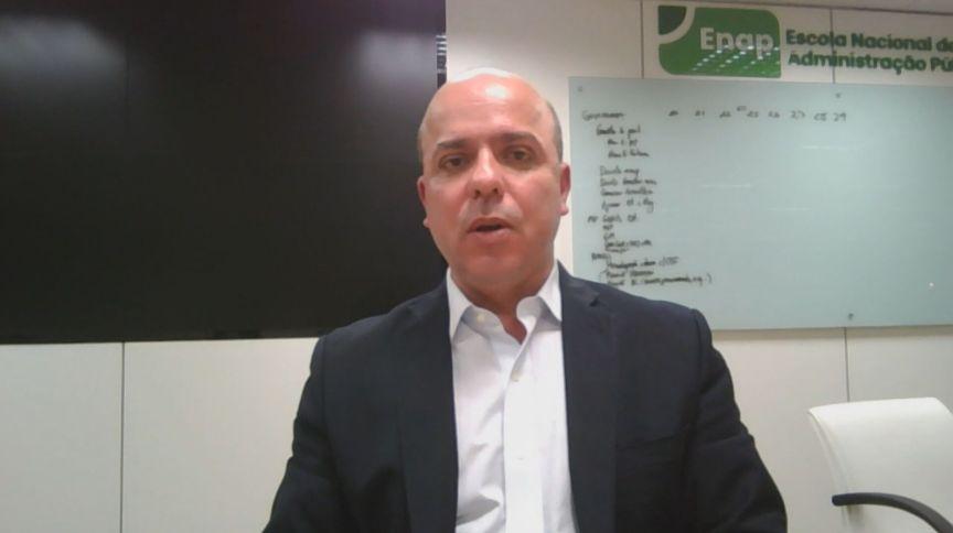 Secretário especial de Produtividade e Emprego (SEPEC), Carlos da Costa, durante entrevista para a CNN (20.mai.2020)