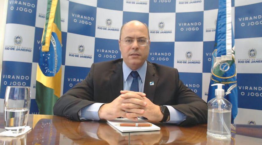 Governador do Rio de Janeiro, Wilson Witzel (PSC), em entrevista para a CNN (21.mai.2020)