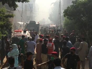 Aeronave estava programada para aterrissar em Karachi, mas desapareceu do radar; as causas do acidente ainda não foram determinadas