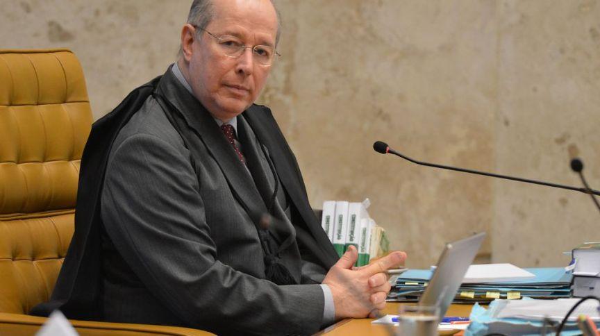 O ministro do STF, Celso de Mello, em sessão do plenário
