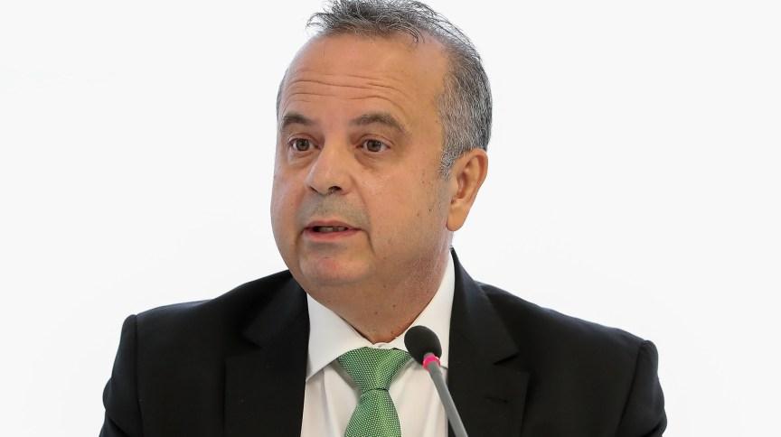 Ministro do Desenvolvimento Regional, Rogério Marinho, na reunião ministerial em 22 de abril.