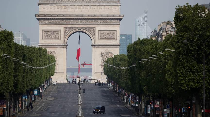 Avenida Champs Elysée, em Paris.