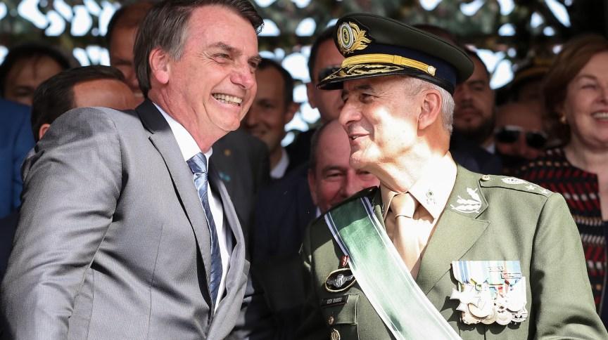 O presidente Jair Bolsonaro e o general Luiz Eduardo Ramos, ministro da Secretaria de Governo