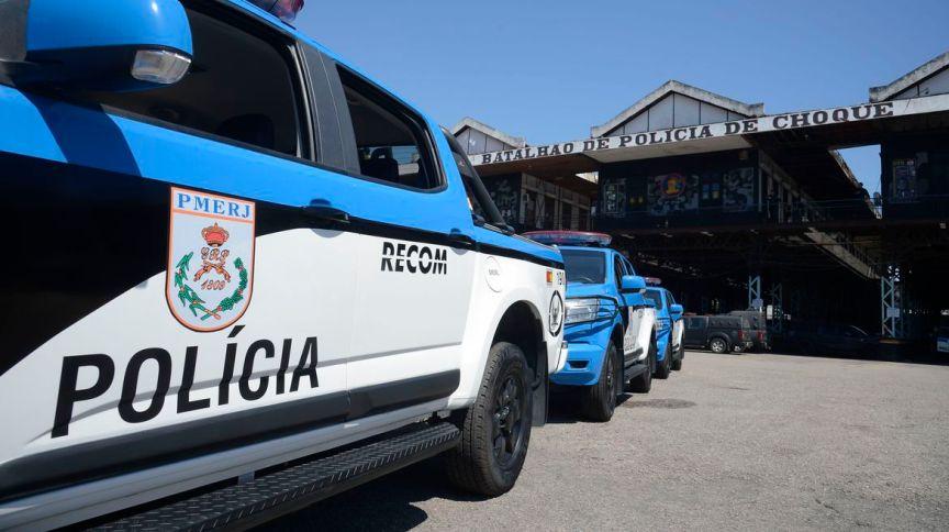 Carro da Polícia Militar do estado do Rio de Janeiro