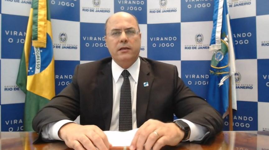 Governador do Rio de Janeiro Wilson Witzel (PSC)