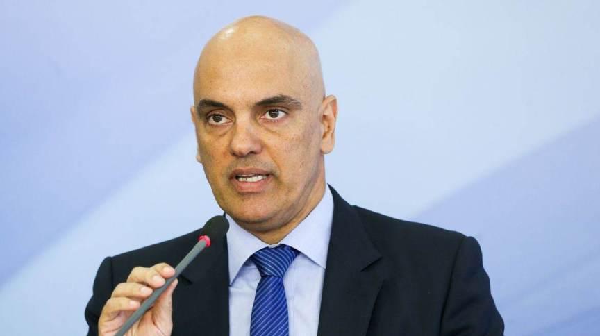 O ministro do Supremo Tribunal Federal (STF), Alexandre de Moraes