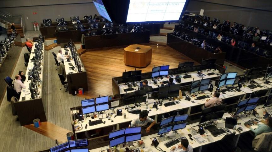 Salão da bolsa paulista, a B3: mercado vive novo momento de euforia apesar da pandemia