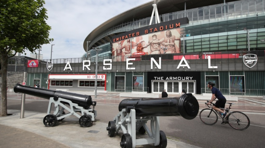 Estádio do Arsenal, em Londres