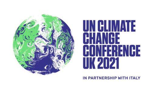 Logo oficial da COP-26