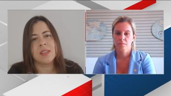 Deputadas federais do PSOL-SP e do PSL-RJ, respectivamente, debatem na CNN os protestos que apoiam e criticam o presidente da República
