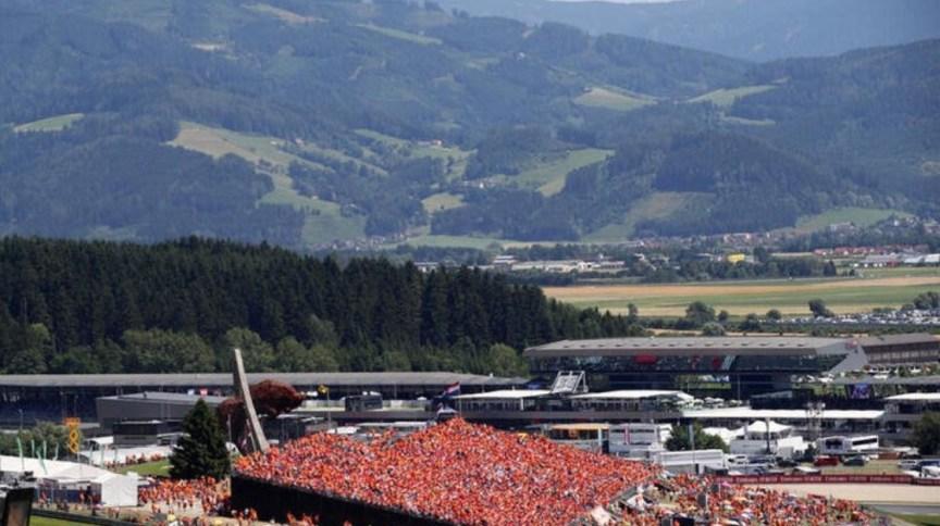 Circuito Red Bull Ring na Áustria