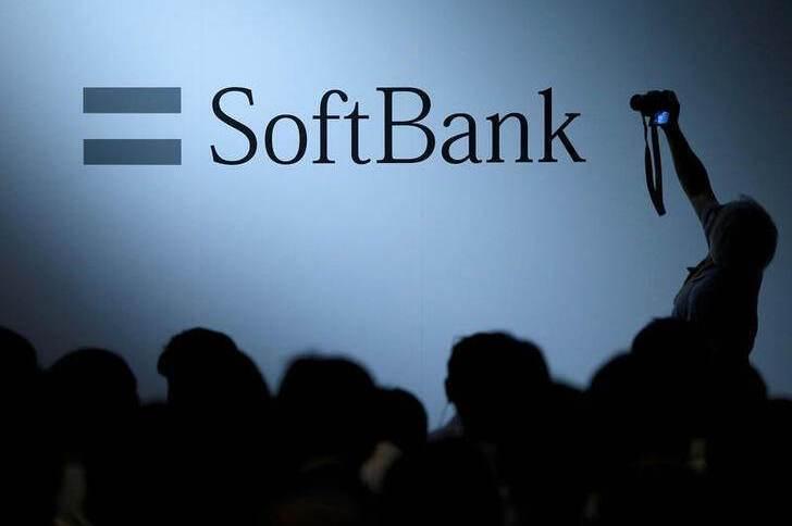 Logotipo do SoftBank. 20/4/2017.