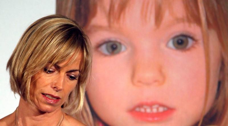 Kate McCann, cuja filha Madeleine desapareceu em Portugal em 2007, durante lançamento de livro em Londres
