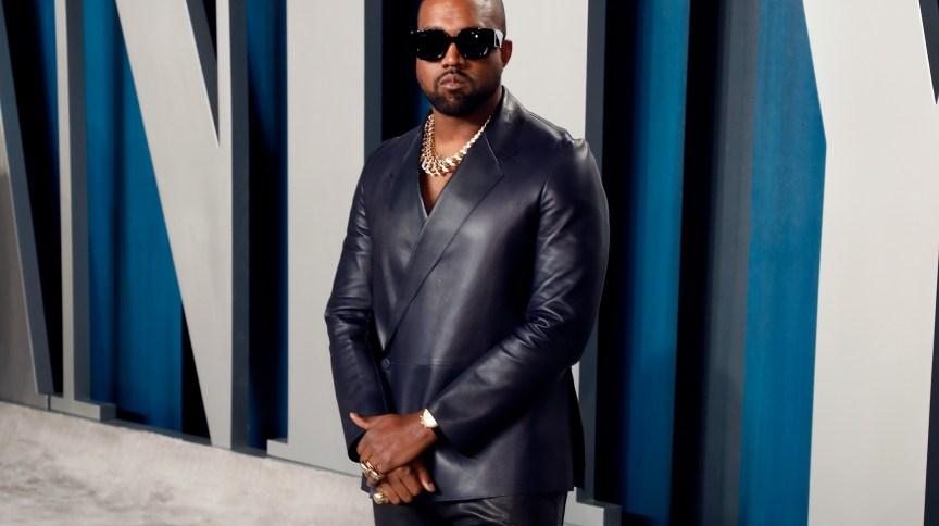 O cantor americano Kanye West