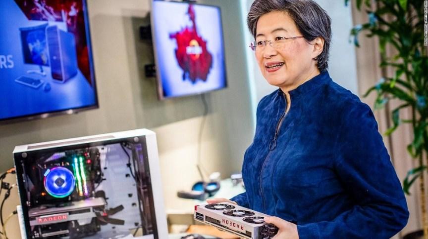 Lisa Su, da ADM: executiva foi a CEO mais bem paga entre as empresas listadas no S&P 500