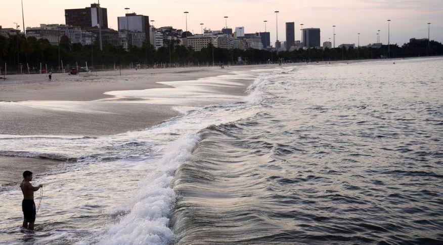 Praias de Botafogo e Flamengo, no Rio de Janeiro