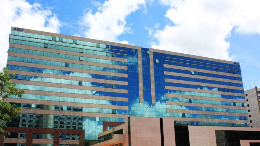 Sede da AGU em Brasília; órgão é responsável por defender a União na Justiça