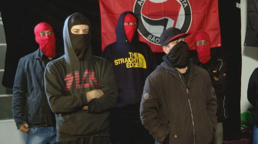 Grupo Ação Antifascista concede entrevista à CNN