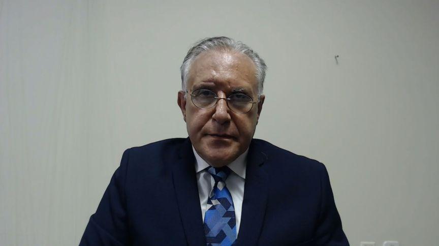 Alberto Beltrame, presidente do Conselho Nacional de Secretários de Saúde (CONASS) e secretário de Estado de Saúde do Pará em entrevista para a CNN (08.jun.2020)