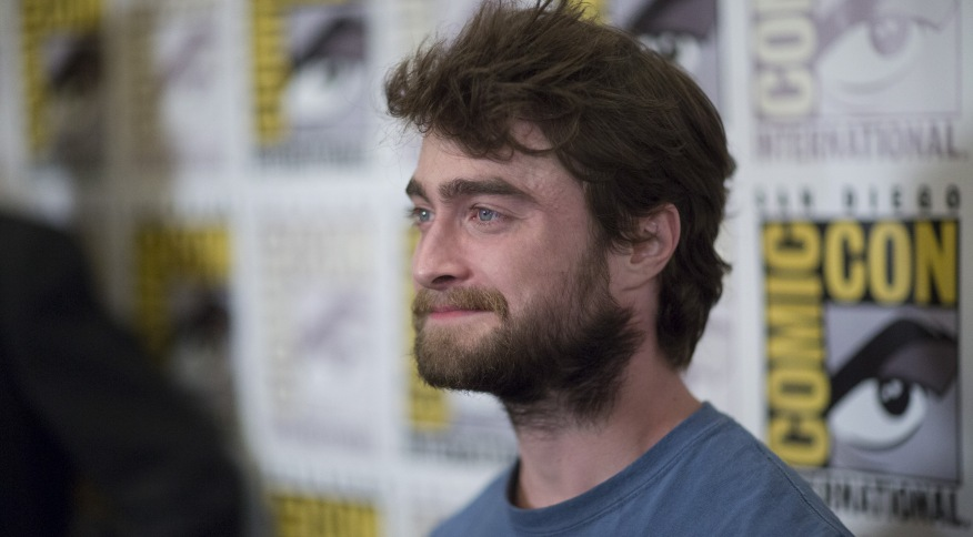 Daniel Radcliffe durante Comic-Con em San Diego 11/07/2015