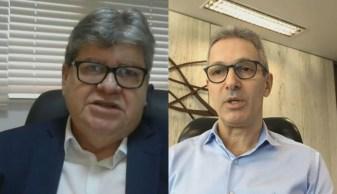 Governadores da PB e MG  avaliaram a operação da Polícia Federal que investiga fraude na compra de respiradores no Pará