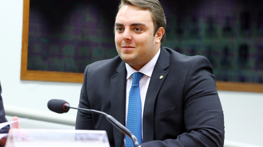 Felipe Francischini (PSL-PR) na Câmara (26.nov.2019)