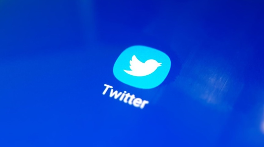 Símbolo da rede social Twitter