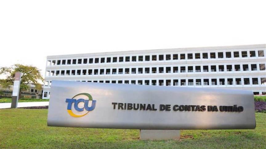 Sede do TCU (Tribunal de Contas da União), em Brasília
