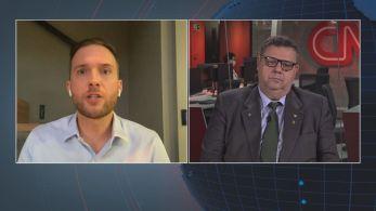 Deputados federais debateram na CNN sobre a escolha de Fábio Faria (PSD-RN), genro de Silvio Santos, dono do SBT, para comandar o Ministério das Comunicações