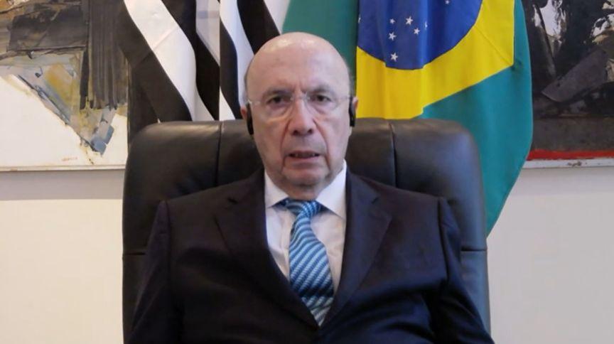 Secretário da Fazenda e Planejamento do Estado de São Paulo, Henrique Meirelles, em entrevista para a CNN (12.jun.2020)