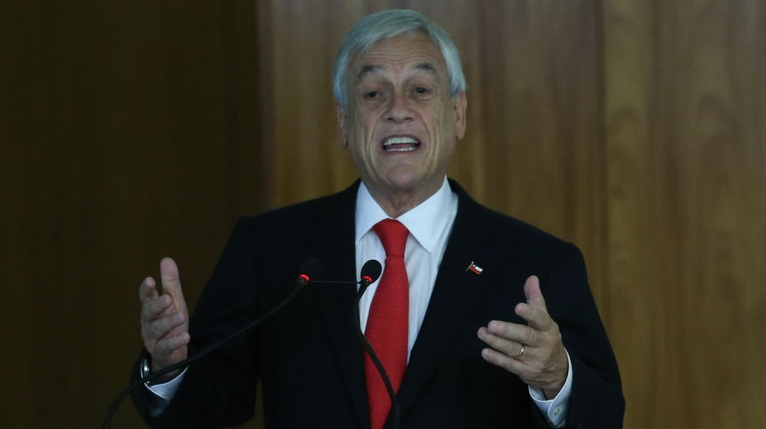 """Sebastián Piñera, presidente do Chile: """"O mundo inteiro está sendo ameaçado pelo populismo"""""""