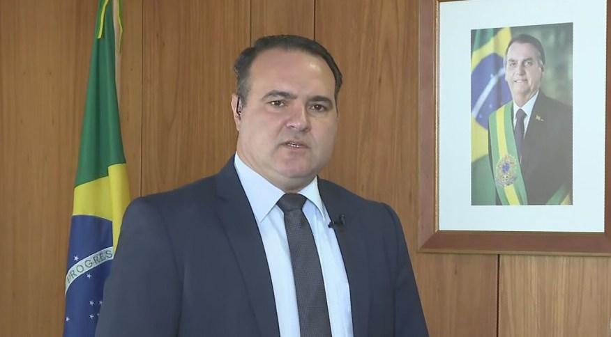 O ministro da Secretaria-Geral, Jorge Oliveira