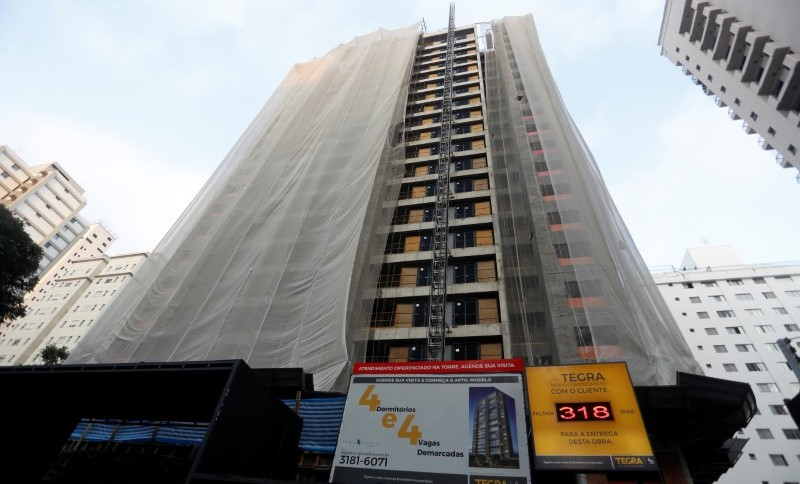 Imóvel em construção em São Paulo (SP)