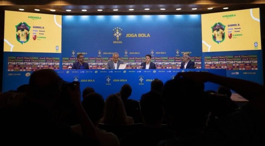 Convocação da seleção masculina de futebol para as Eliminatórias da Copa do Mundo de 2022