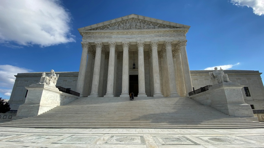 Prédio da Suprema Corte dos EUA (19/01/2020)