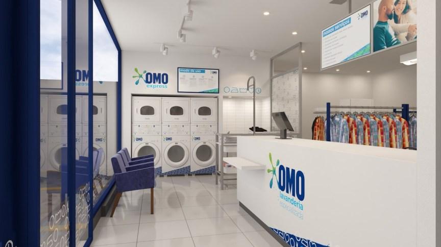Franquia de lavanderia da Unilever