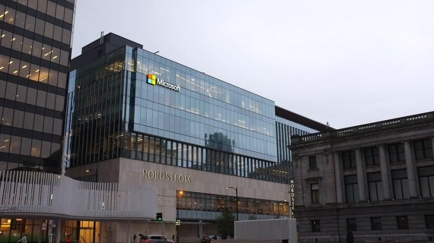 Prédio da Microsoft em Vancouver, Canadá