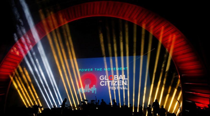 """""""Objetivo Global: Unidos para o nosso futuro"""" é parte de uma iniciativa conjunta entre o grupo Global Citizen e a Comissão Europeia"""