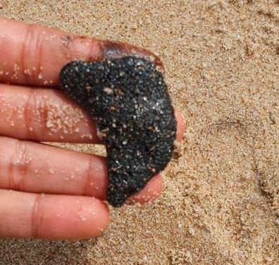Fragmentos de óleo voltam a ser retirados do litoral do Nordeste