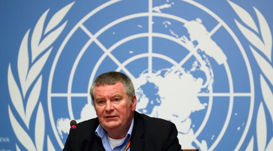 Michael Ryan, diretor do programa de emergências da OMS