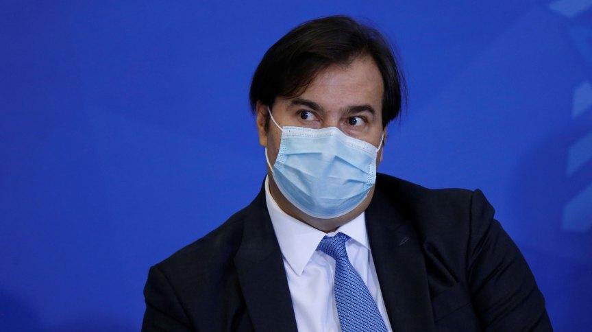 O presidente da Câmara dos Deputados, Rodrigo Maia, disse que a pandemia permitirá sair de pautas econômicas e discutir outras questões, como o racismo