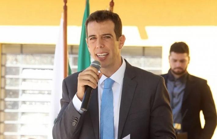 O secretário de educação do Paraná, Renato Feder