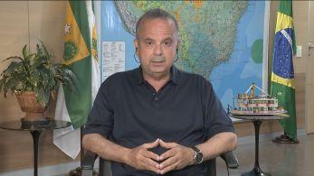 O ministro do Desenvolvimento Regional falou sobre a obra do Rio São Francisco que Bolsonaro inaugurou na manhã desta sexta-feira (26)