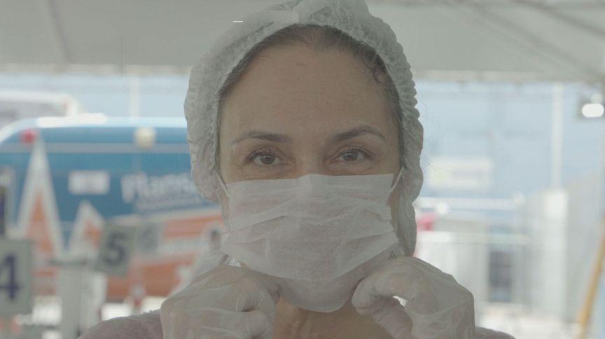 Máquina que esteriliza máscaras ajuda a salvar vidas