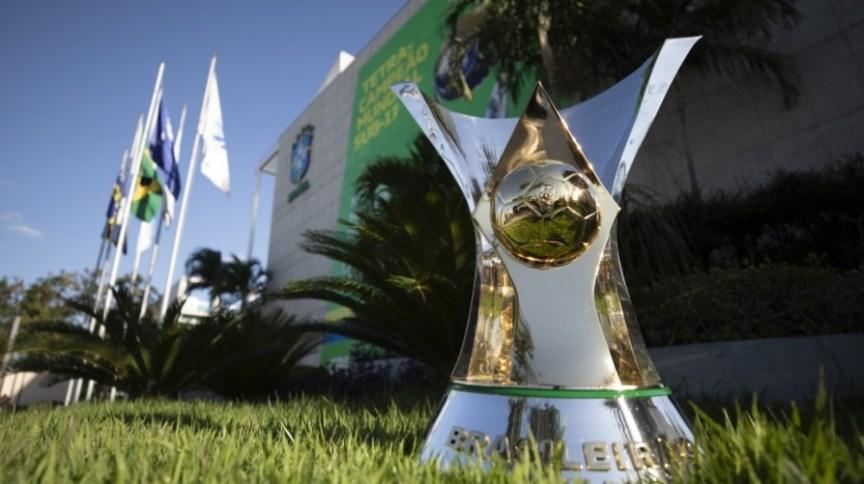 Taça do Brasileirão 2019 que foi vencido pelo Flamengo