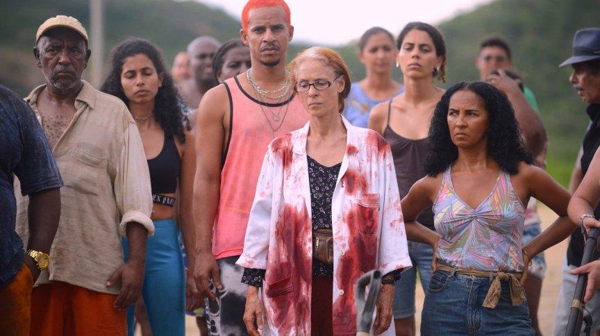 """Cena do filme brasileiro """"Bacurau"""", de Kleber Mendonça Filho."""