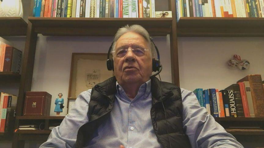 Ex-presidente Fernando Henrique Cardoso: visita nãocondiz com a boa prática diplomática internacional